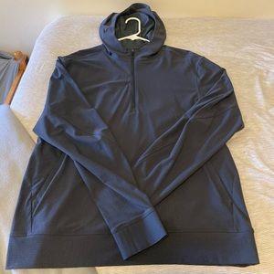 lululemon 1/4 zip sweatshirt
